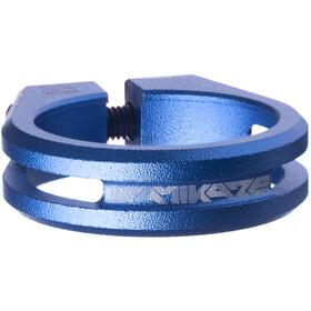 Sixpack Kamikaze Zadelklem Ø34,9mm, blue